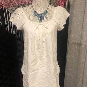 American Eagle Eyelet Summer Dress